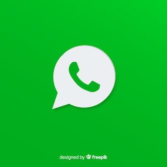 Whatsappアイコンデザイン