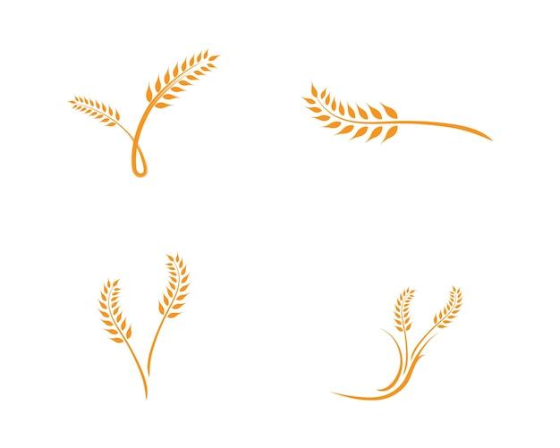 小麦ロゴテンプレート