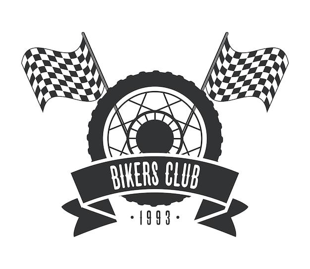 휠 바이커 로고