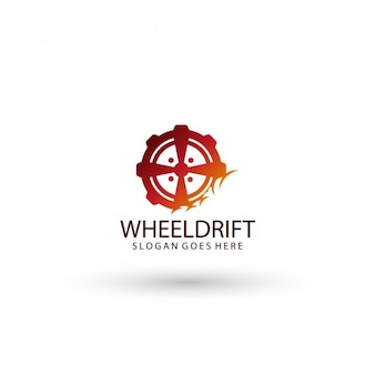 Wheel logo template