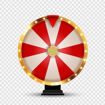 Колесо фортуны, счастливая икона. иллюстрация