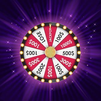 Wheel of fortune、ラッキーアイコン。