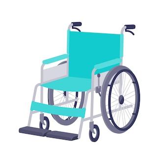 Wheelchair. diagonally forward.