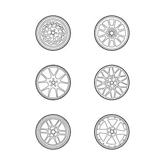 The wheels shape