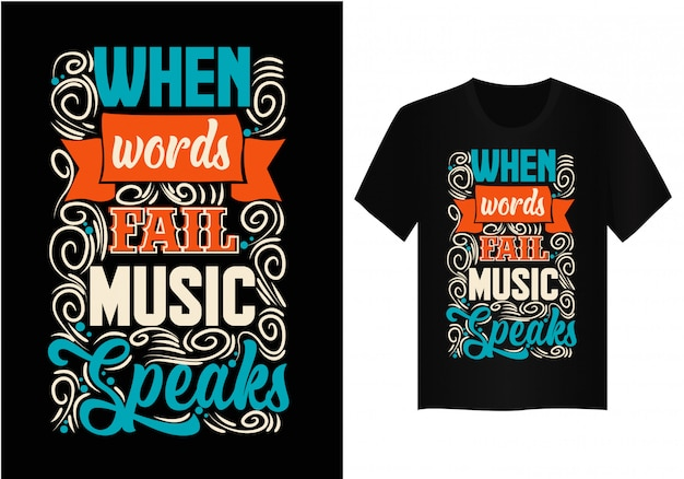 When words file music speaks quote