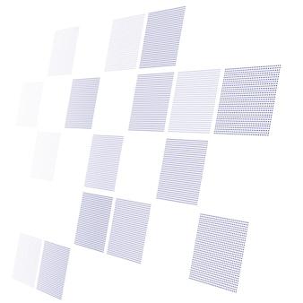 視点で抽象的なハイテクwhie背景