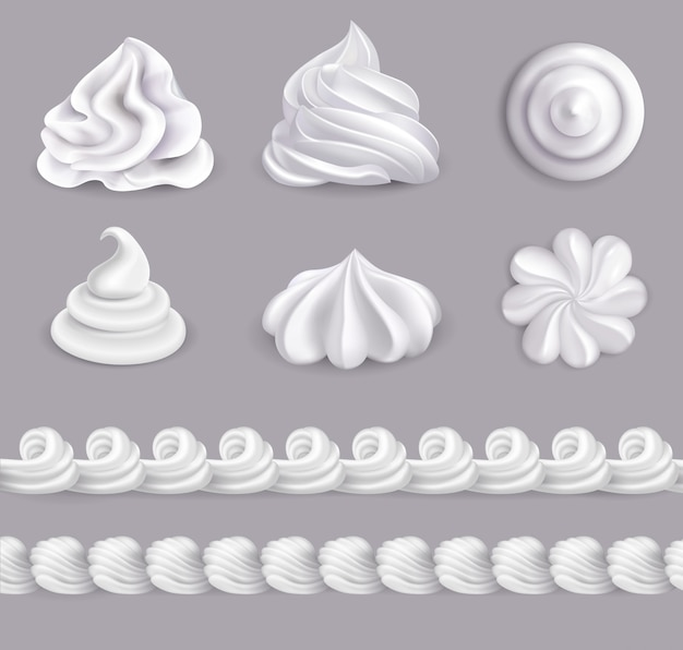 Whipped cream set