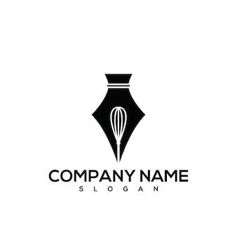 Whisk pen logo