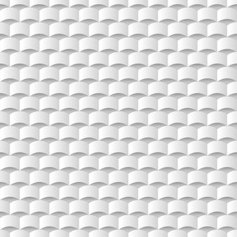 White 3d geometric texture background