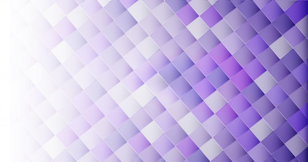 White abstract 3d geometric shape background