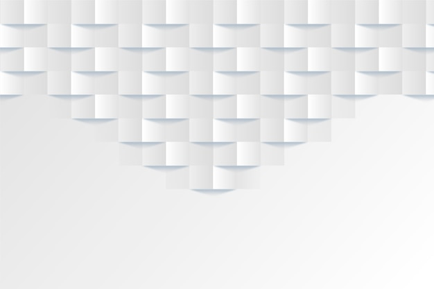 White abstract background in 3d design