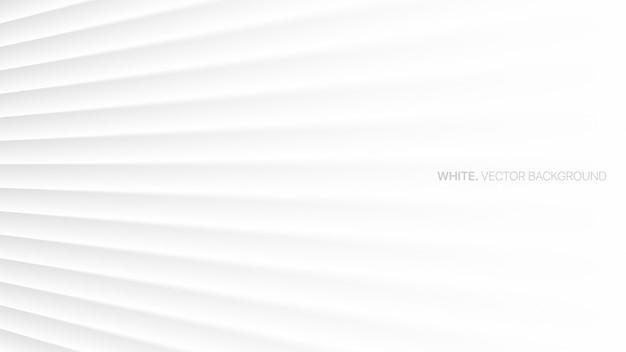 白の抽象的な背景3d滑らかな遠近法の線