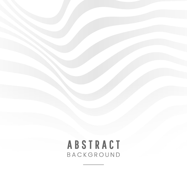 White abstract background design vector