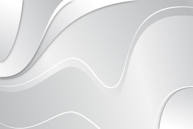 Disegno astratto sfondo bianco