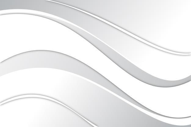 白の抽象的な背景デザイン