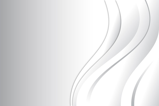 White abstract background design