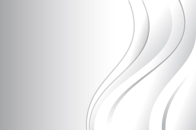 Белый абстрактный фон дизайн
