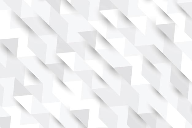 3 dペーパースタイルの白の抽象的な背景
