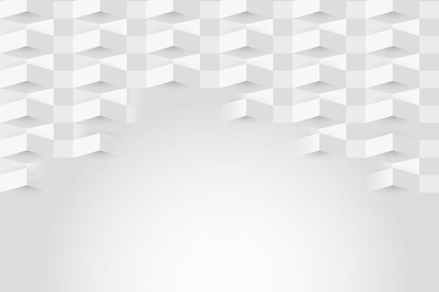 White abstract background in paper style