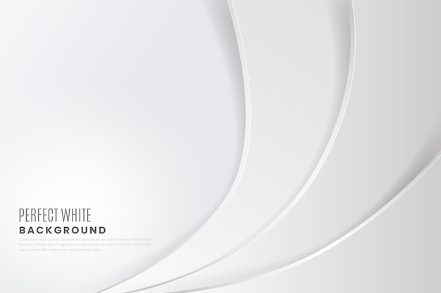 White abstract background theme