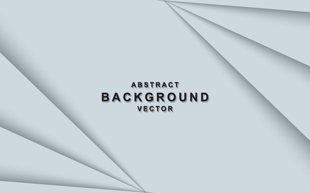 White abstract background with overlap layers