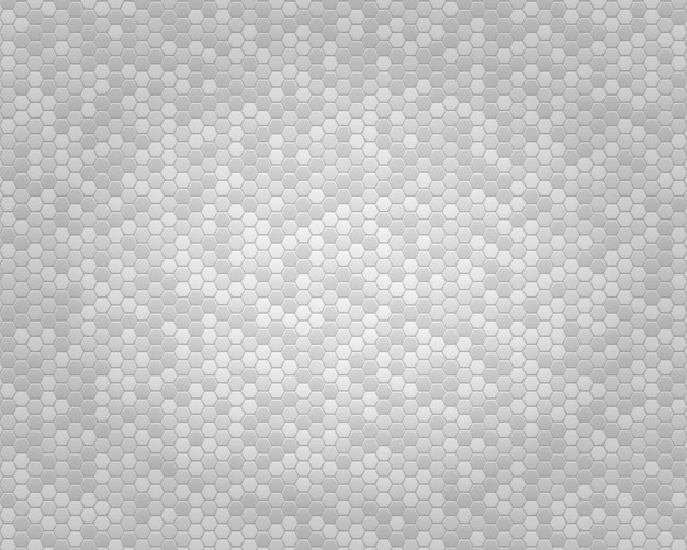 White abstract geometric background from small polyhedrons with color inserts