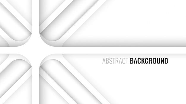 Белый абстрактный геометрический фон. иллюстрации.