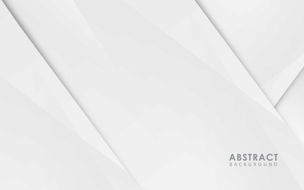 White abstract silver texture background vector