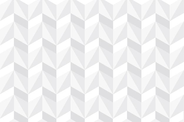 3 dペーパーデザインの白い抽象的な壁紙