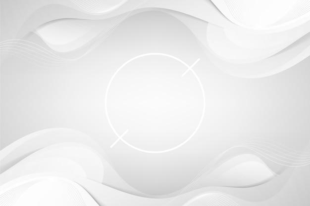 Белые абстрактные обои