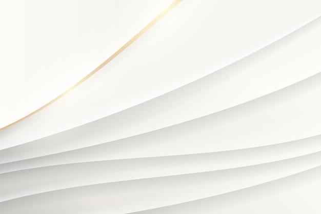 흰색 추상 물결 모양 배경