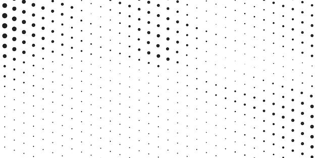 흰색과 검은색 하프톤 배경