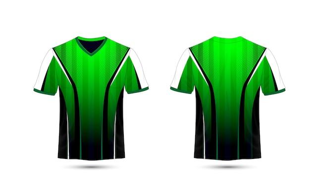 흰색과 검은 색 레이아웃 전자 스포츠 티셔츠 디자인 서식 파일