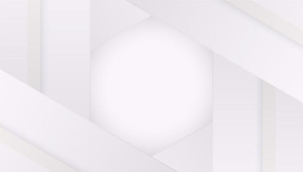 Белый и чистый геометрический фон цветовой вектор дизайн