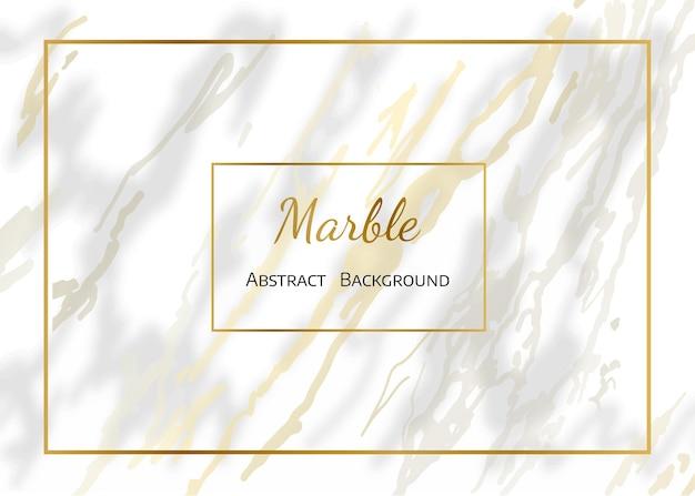 Белый и золотой мрамор естественный узор для фона, абстрактный черный и белый. векторный фон