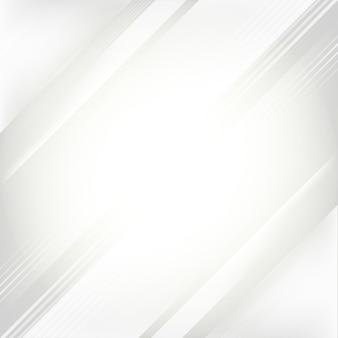 Белый и серый градиент абстрактного фона