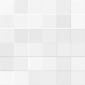 バスルームの壁に白とグレーのタイル。タイル張りのベクトルのシームレスなテクスチャ。キッチン構造の図幾何学的な正方形のセラミック