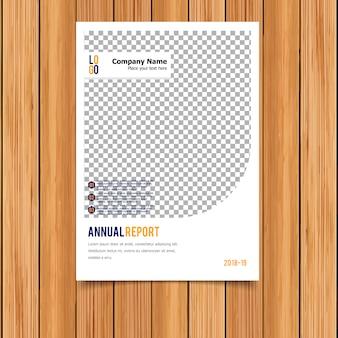 White annual report template
