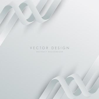 White background design
