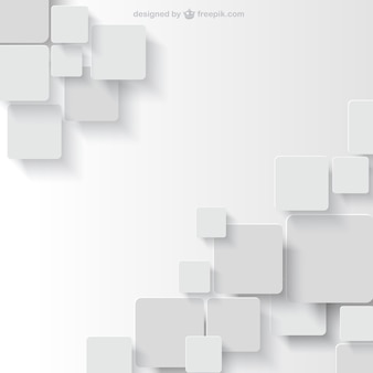 White background in geometric style