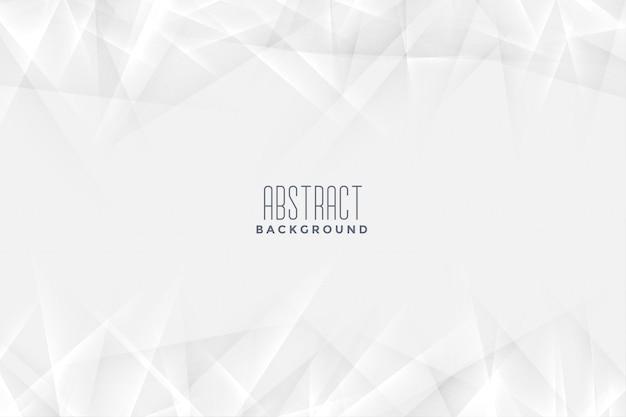 Белый фон в абстрактном стиле