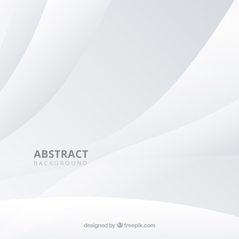 White Background In Abstract Style