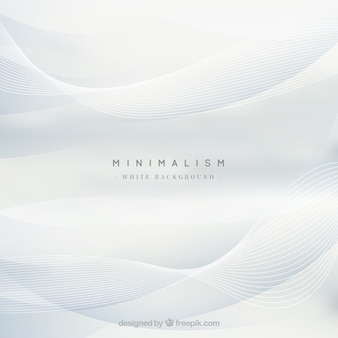White background, wavy shapes