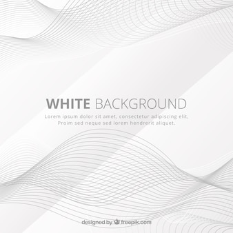 White background with abstract style
