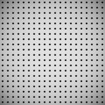 White background with perforated pattern Premium Vector