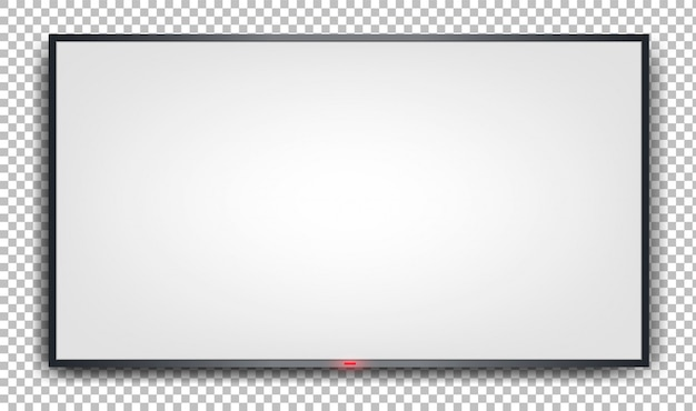 White banner on a transparent background.