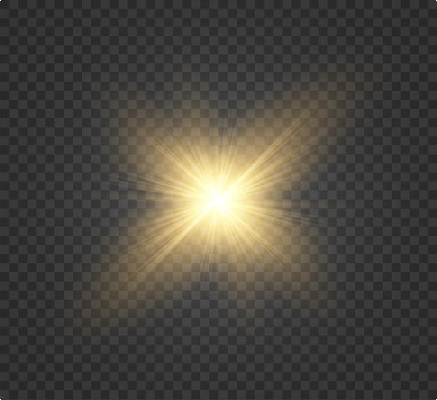 White beautiful light explodes in a transparent explosion. , bright illustration for perfect effect with sparkles. bright star. transparent gloss gradient shine, bright flash.