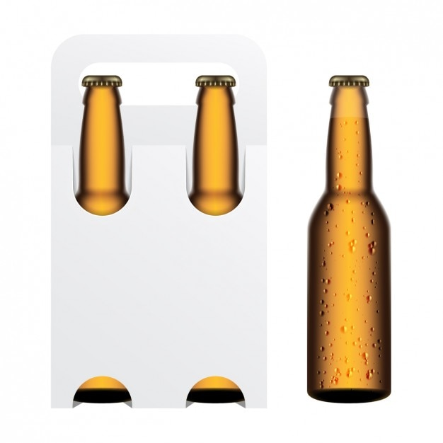 beer bottles vectors photos and psd files free download rh freepik com vector beer bottle label vector beer bottle silhouette