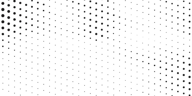 White and black halftone background
