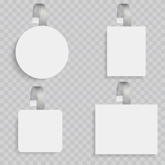White blank wobblers